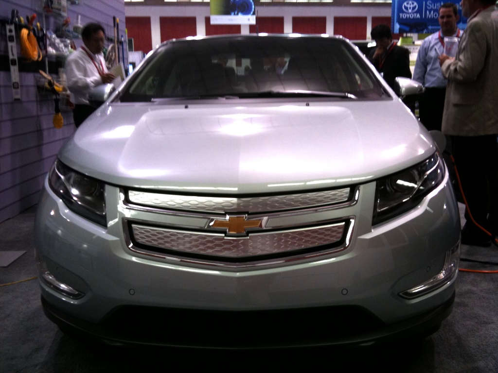 Chevy Volt Hybrid Electric Car