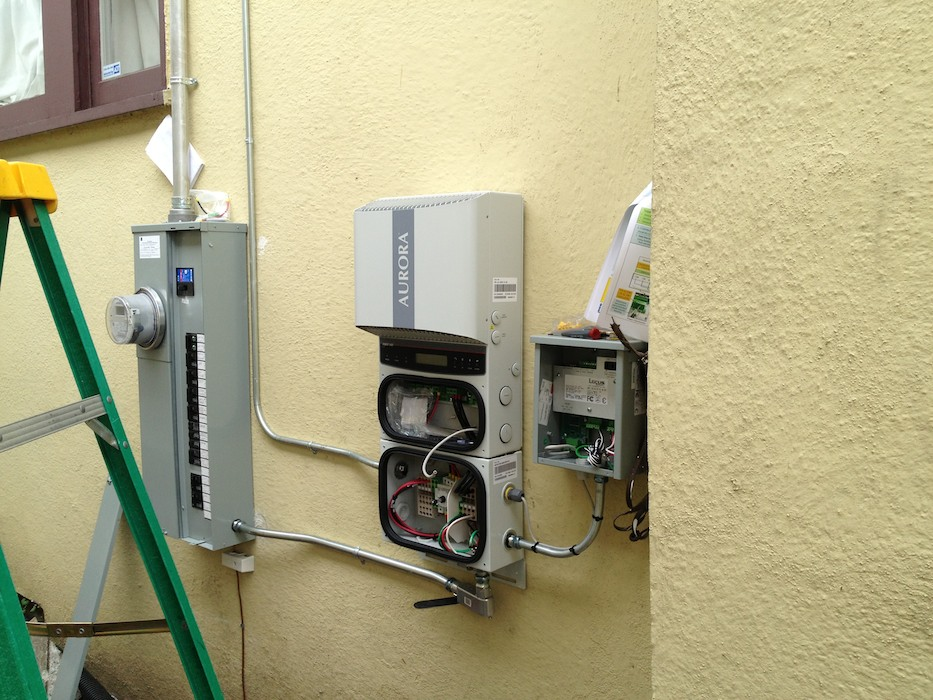 Inverter and wireless monitoring